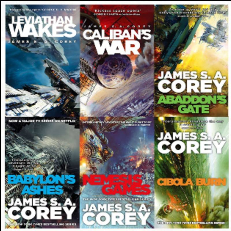 The Expanse James Corey Livres