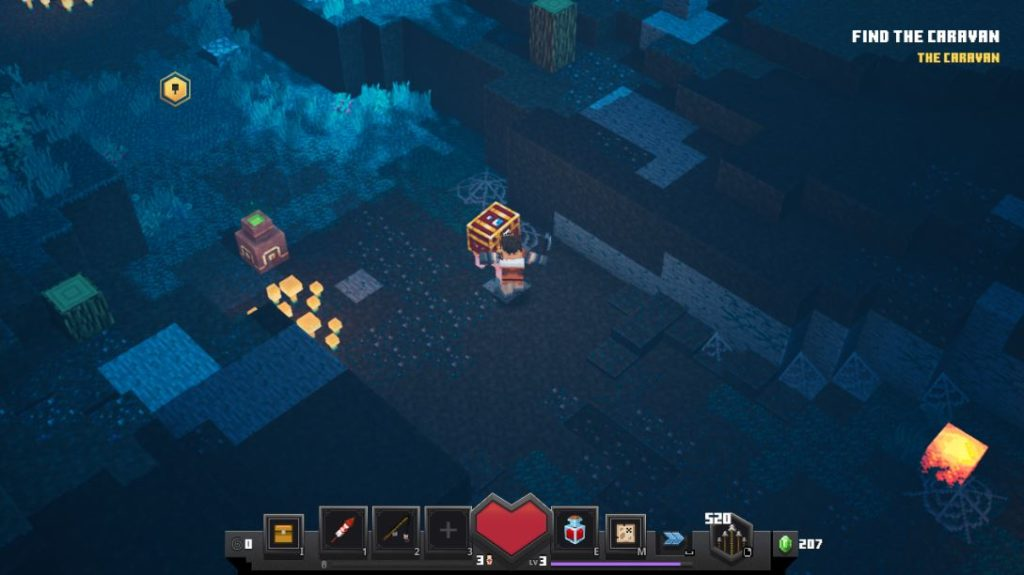Minecraft Dungeons Secrets and Chests Location – Comment débloquer le niveau secret de la vache, Dingy Jungle et Lower Temple