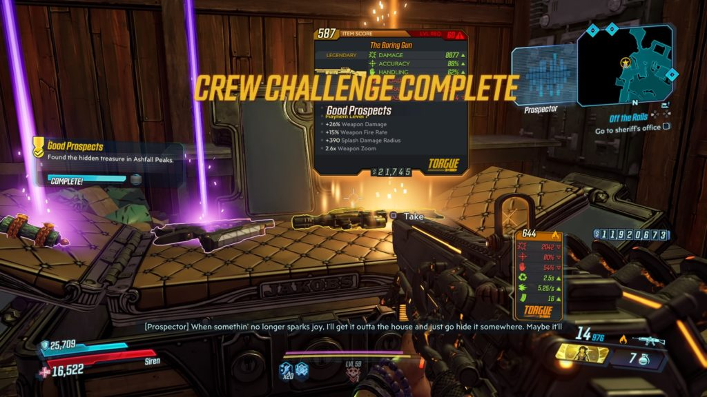 Borderlands 3: Bounty of Blood Good Prospects Emplacements