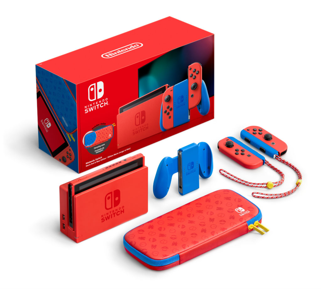 La Nintendo Switch Mario Red and Blue Edition est disponible en précommande chez ces détaillants