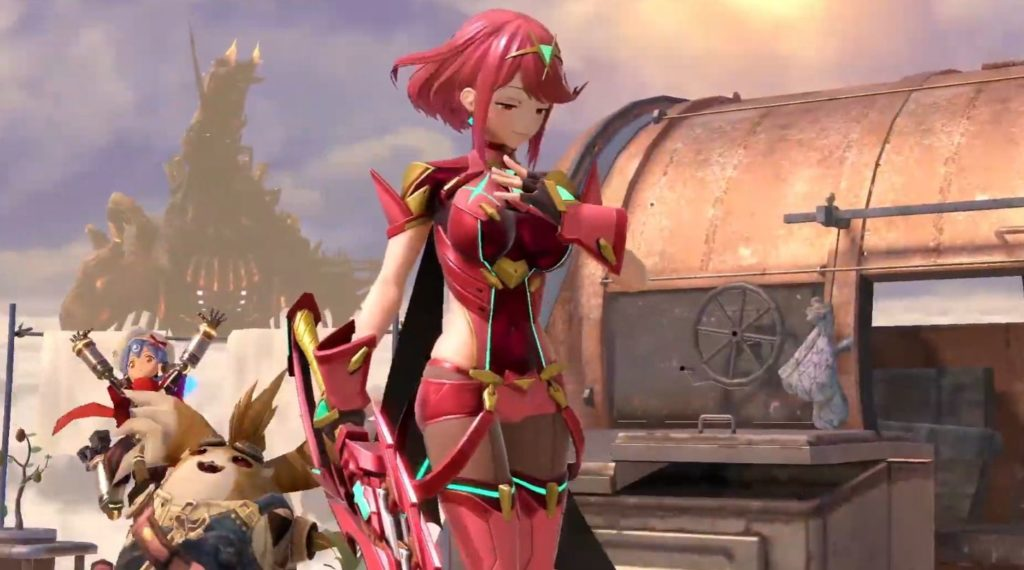Regardez la diffusion Super Smash Bros.Ultimate Pyra / Mythra ici