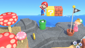 Animal Crossing + Mario |  Comment obtenir des objets Mario dans New Horizons