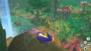 Nouveau Pokemon Snap |  Comment se rendre derrière la cascade de Founja Jungle
