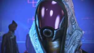 Mass Effect Legendary Edition change la photo de Tali dans Mass Effect 3